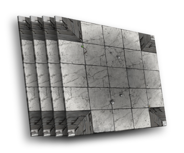 4 karty [X] - skrzyżowanie korytarzy A