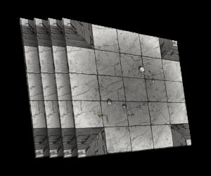 4 karty [X] - skrzyżowanie korytarzy B
