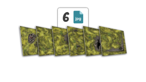 6 plików JPG | wersja trawiasta | 100 dpi | bez znaku wodnego